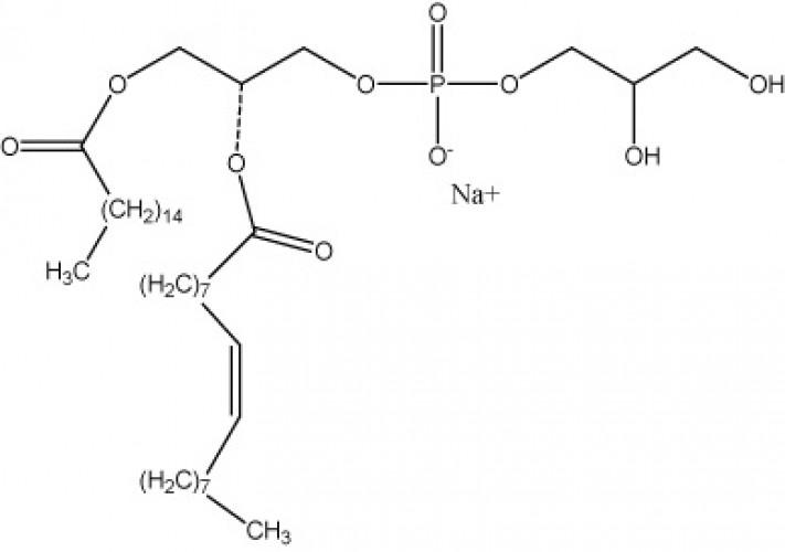 1-Palmitoyl-2-oleoyl-sn-glycero-3-phosphorylglycerol, (Na+ salt), (POPG)