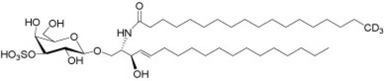 N-Octadecanoyl-D3-sulfatide, deuterated