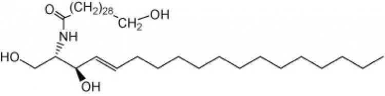 N-omega-Hydroxytriacontanoyl-D-erythro-sphingosine