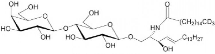N-Hexadecanoyl-D3-lactosylceramide, deuterated