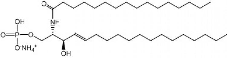 N-Hexadecanoyl-D-erythro-sphingosine-1-phosphate, (NH4+salt)