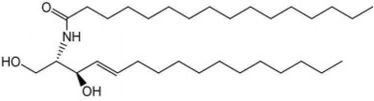 N-Hexadecanoyl-D-erythro-sphingosine (C16 sphingolipid base)