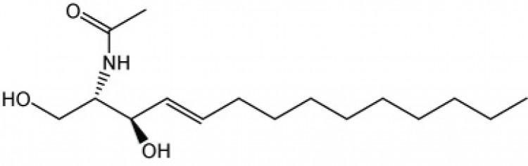 N-Acetyl-D-erythro-sphingosine (C14 sphingolipid base)