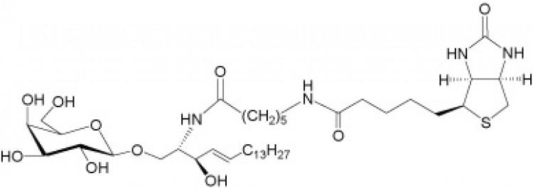 N-Hexanoyl-biotin-galactosylceramide
