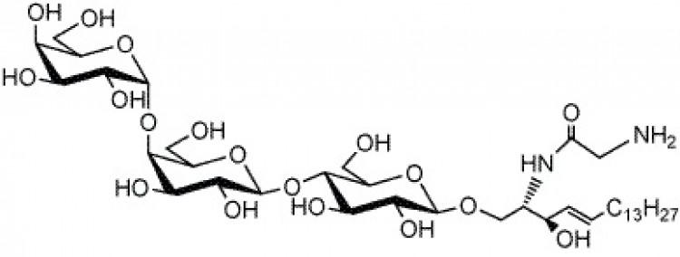 N-Glycinated lyso-ceramide trihexoside