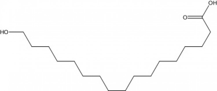 17-Hydroxyheptadecanoic acid