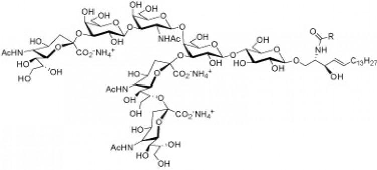 Trisialoganglioside GT1b, (bovine brain), (NH4+ salt)