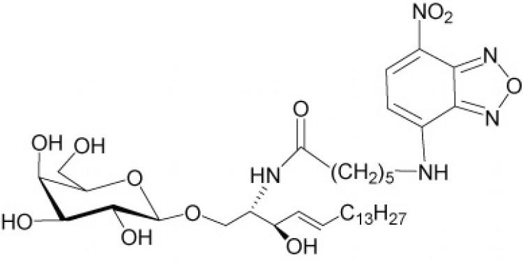N-Hexanoyl-NBD-galactosylceramide