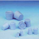 Stoppers, Grey-Blue Natural Rubber, 10D, 100PC